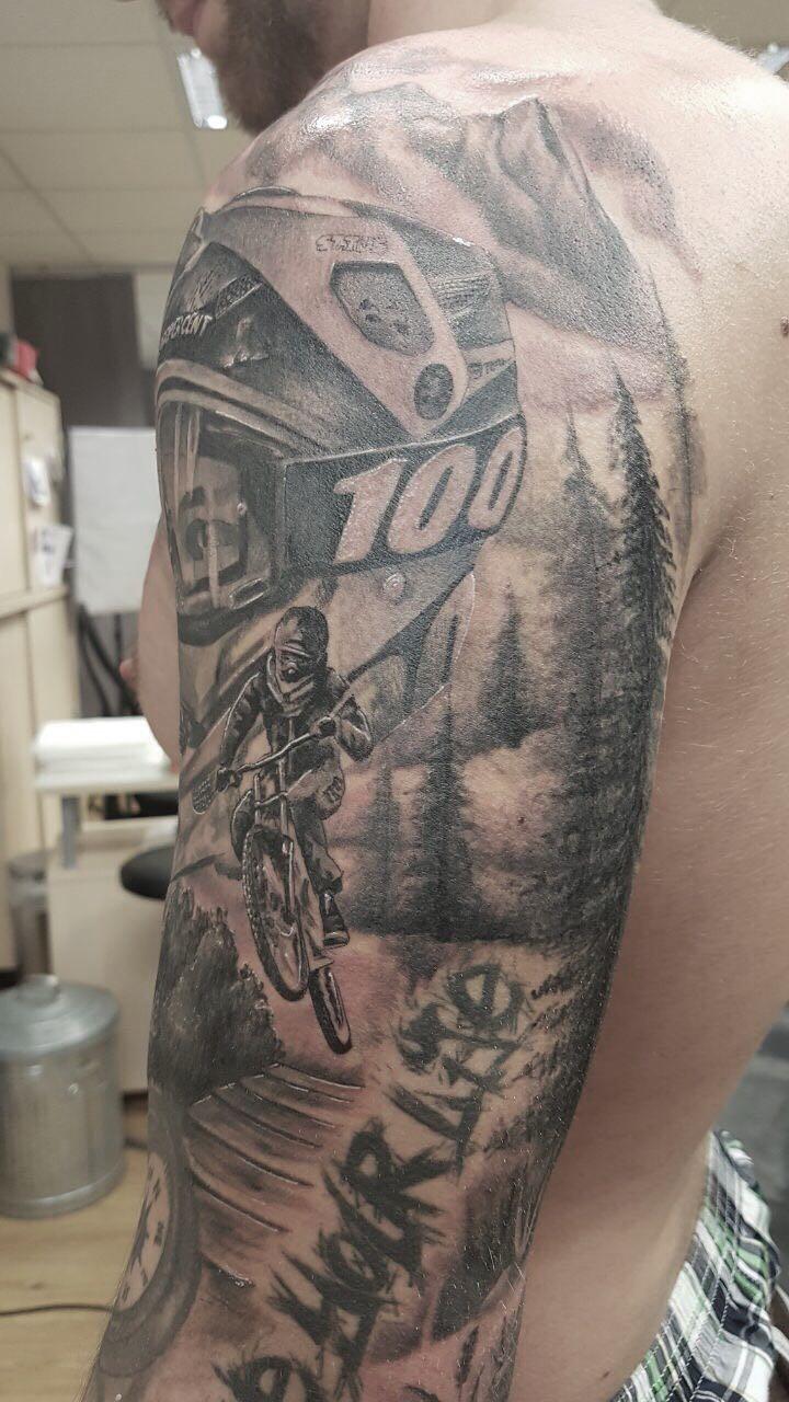 Biker 1 von Siggi Wild Spirit Tattoo