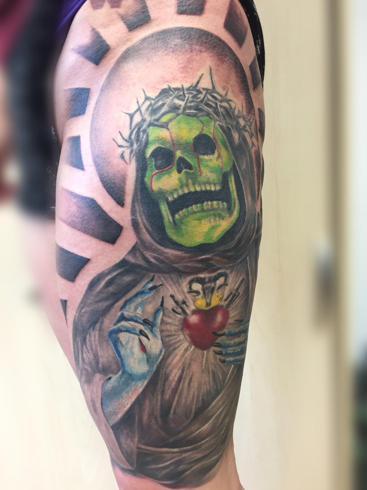 Der Tot von Siggi Wild Spirit Tattoo