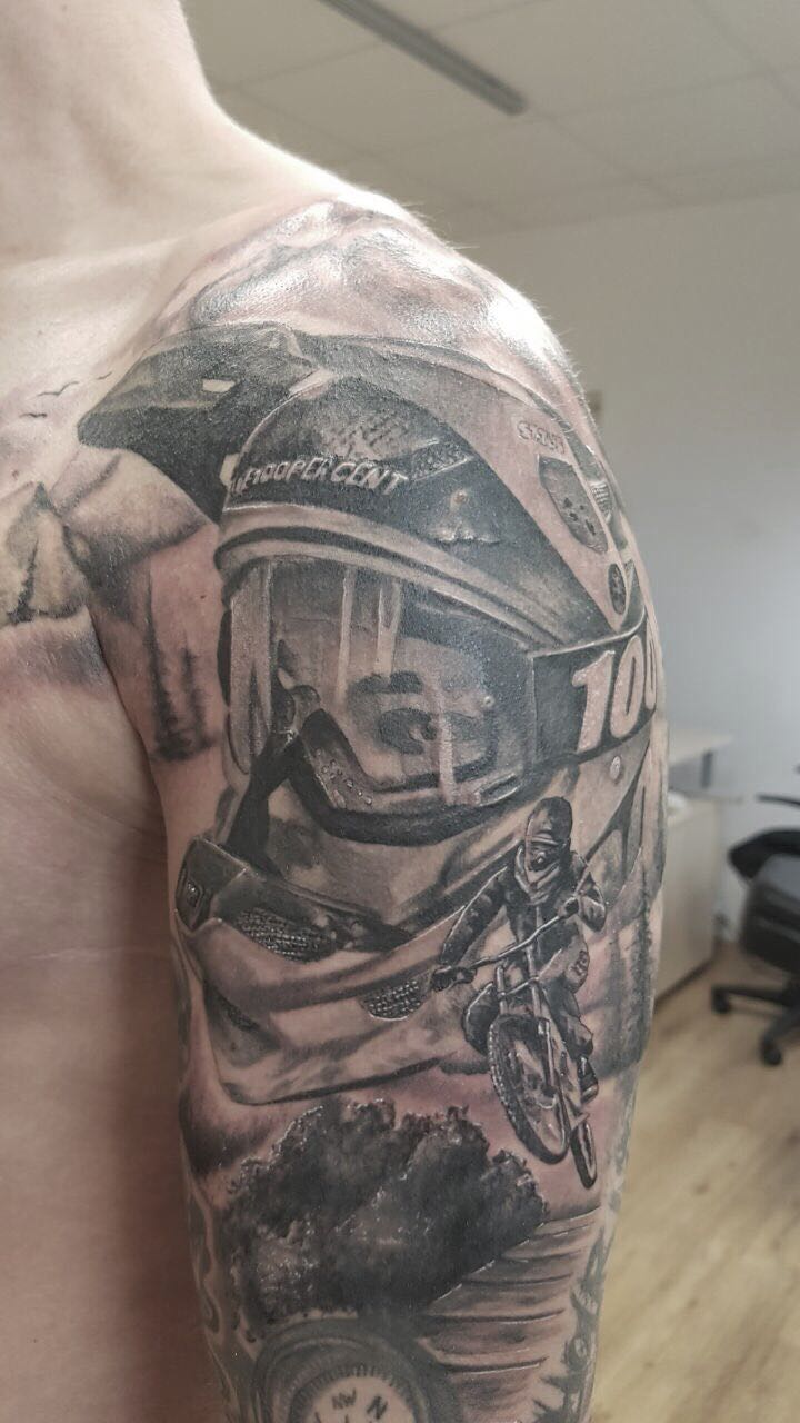 Biker von Siggi Wild Spirit Tattoo