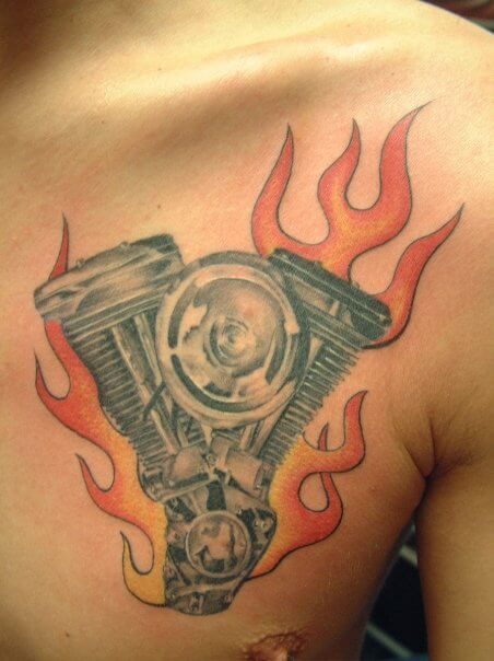 tattoo_brust_motor