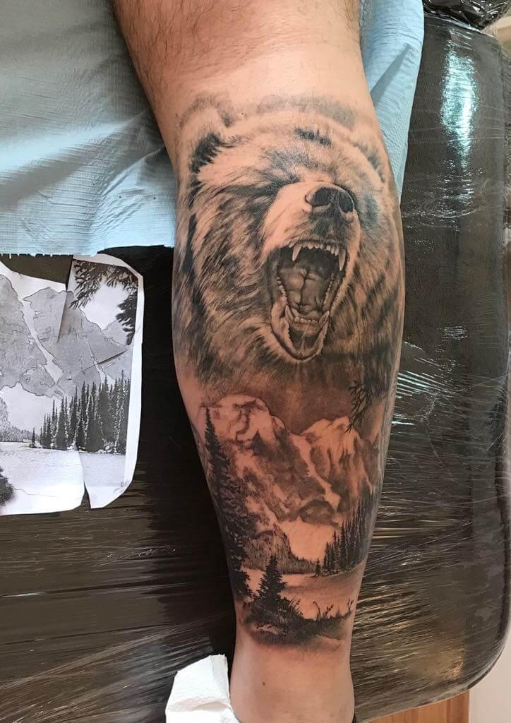 Ljubica Wild Spirit Hamen Bären Tattoo