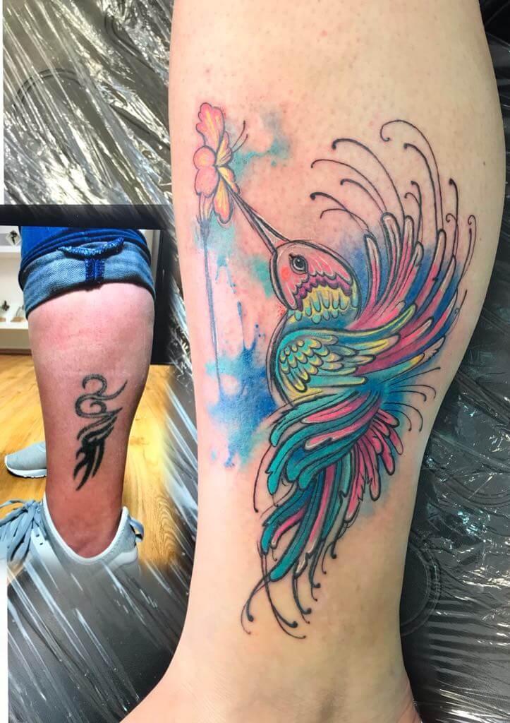 Ljubica Wild Spirit Hamen Cover Up Tattoo Farbe