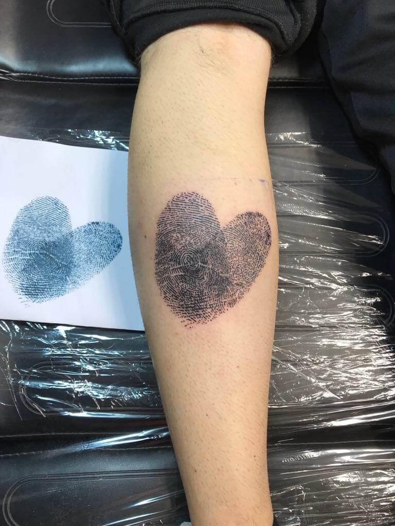 Ljubica Wild Spirit Hamen Fingerabdruck Tattoo