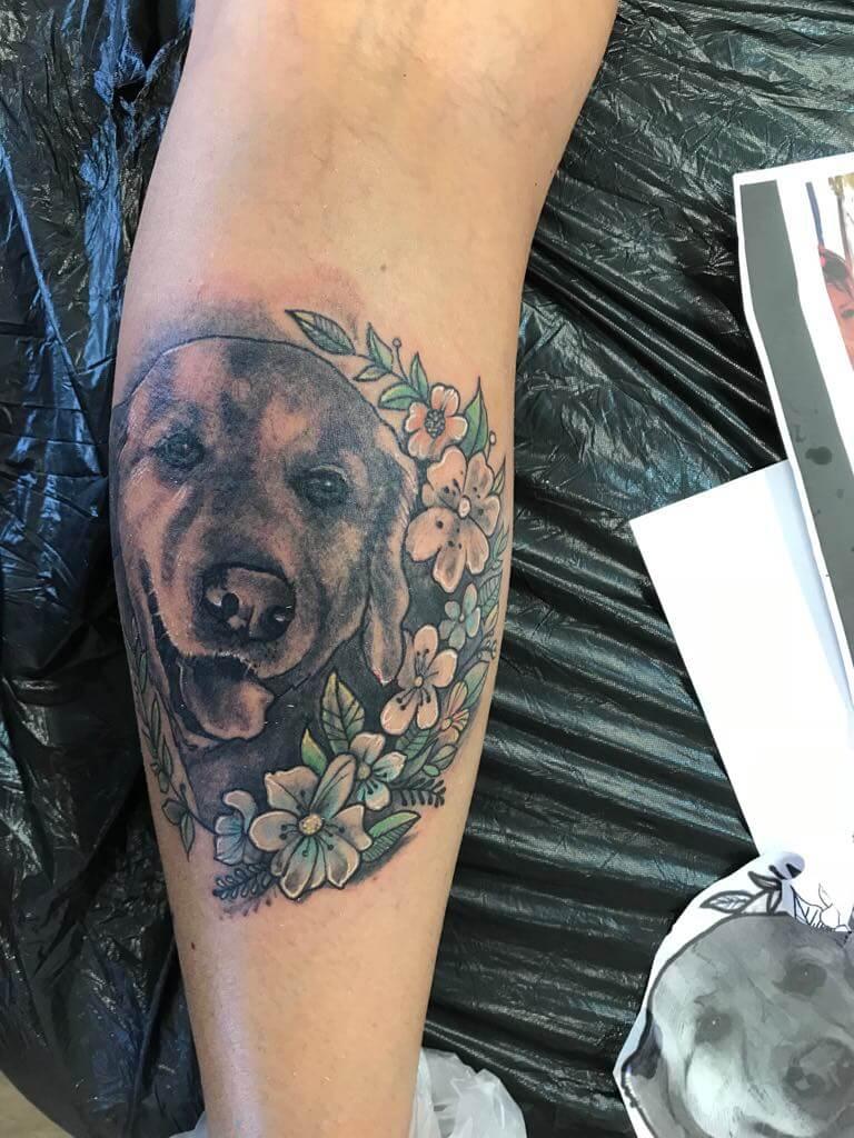 Ljubica Wild Spirit Hamen Hunde Tattoo