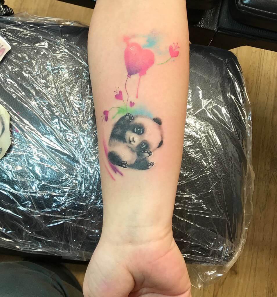 Ljubica Wild Spirit Hamen Koalabär Tattoo