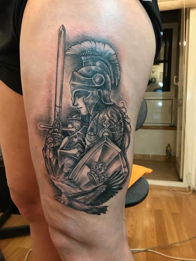 Ljubica Wild Spirit Hamen Ritter Tattoo