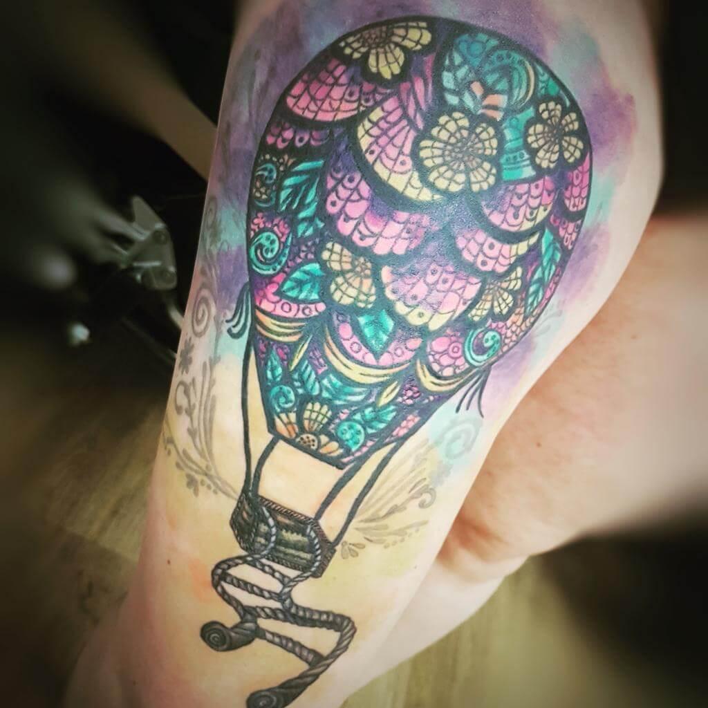 Aquarell Tattoo von Susann Wild Spirit Hameln