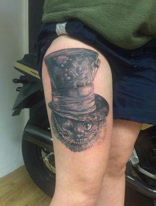 Tattoo der Ginsekatze Wild Spirit Tattoo Hameln Siggi