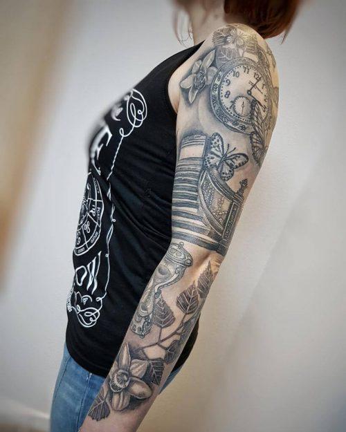 Tattoo von Suann aus Hameln ganzer Arm
