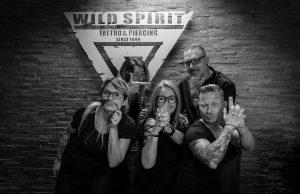 Team Spirit das Wild Spirit Tattoo und Piercing Team